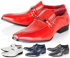 Monti Albani Mens Smart Wedding Italian Formal Office Casual Party Dress Shoes