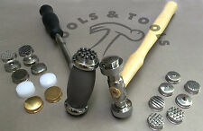 TEXTURING HAMMERS 9 OR 12 FACES/ HEADS DESIGN PATTERNS JEWELRY METAL REPOUSSE
