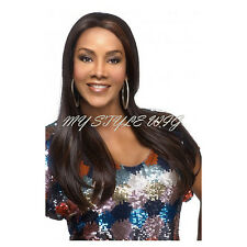 VIVICA A FOX Synthetic Deep Lace Front Wig - EMERALD
