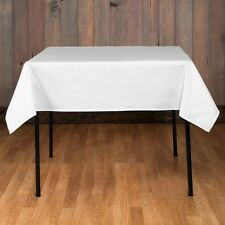 """10 packs Square Tablecloths 54""""x 54"""" inch USA Polyester Party Overlay 23 COLORS"""