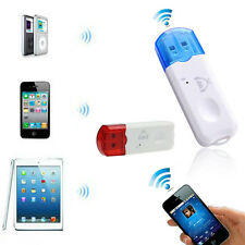 Wireless USB Bluetooth Stereo Audio Music Receiver Adapter For iPhone Hot