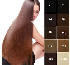 """Fashion 10 Colors 22"""" Synthetic Hair Extension 7 pieces of Clips Hair Extension"""