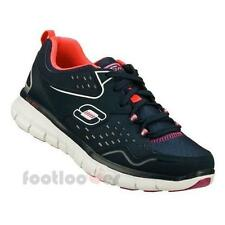 Shoes Skechers Synergy Front Row 12013 NVPR Navy Women's Memory Moda Fashion