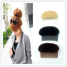 Hair Styler Volume Bouffant Beehive Shaper Bumpits Foam On Clear Comb Women Gift
