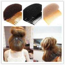 Ideal Hair Styler Volume Bouffant Beehive Shaper Bumpits Bump Foam Comb Xmas 1pc