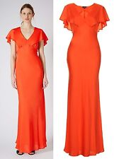 TOPSHOP Paprika Cape Back Maxi Dress RRP £58 Size 6 to 16