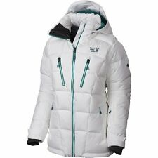 MOUNTAIN HARDWEAR WOMENS DOWNHILL PARKA, WHITE, SIZE LARGE, SALE! MSRP $400, NWT