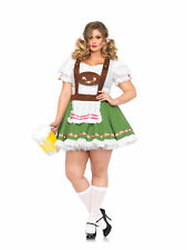 Leg Avenue Oktoberfest Sweetie Peasant Dress Beer Garden Maid Plus Size Costume