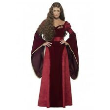 Deluxe Medieval Renaissance Game of Thrones Costume -12,14,16,18,20,22 Plus Size