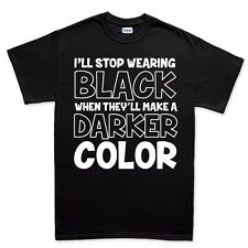 Stop Wearing Black Funny Mens Womens Adult Kids Sizes T shirt