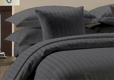 Ohh 1200TC Grey Color All USA Size Bedding Set Collection 100%Egyptian Cotton