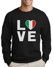 I Love Italy - Italian Patriot Flag Of Italy Cool Sweatshirt Gift Idea