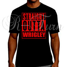 Straight Outta Wrigley Chicago Cubs Playoff  T-Shirt T Shirt Tee