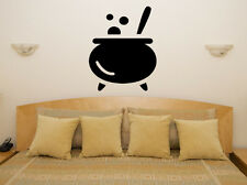 Cauldron - Witches Witch Halloween Bedroom Decal Wall Art Sticker Picture