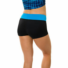 Onzie Hot Yoga Shorts! 220 Black/Azure