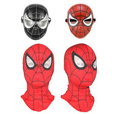 Kids Spiderman Fancy Dress Costume Halloween Superhero Toy Cosplay Party Masks