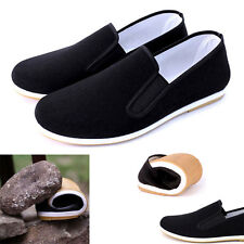 Martial Art Kung Fu Tai Chi Shoes Dichotomanthes Sole Casual Shoes Slipper Black