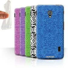 STUFF4 Gel/TPU Case/Cover for LG Optimus F6/Insect Pattern