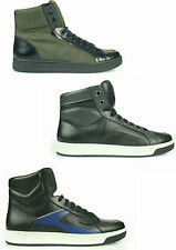 £550 MB2 PRADA SNEAKERS MAN HI TOP SCARPE SHOES HERRENSHUHE 100% AUTENTICH