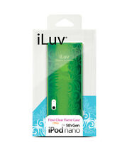 iLuv ICC310 TPU Clrar Flame case for iPod 5th Gen Nano, NEW, FREE SHIPPING