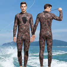 Men's 3mm Neoprene Full Body Warm Diving Wetsuits Warm Swimming Surfing Jumpsuit