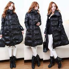 puffer Snow Outerwear Duck Down Coats Winter Jackets Warm Ladies Long Parka Size