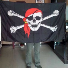 45*30cm and 90*150cm Skull Flag Poly Material Flag Cross Crossbones Pirate Flag