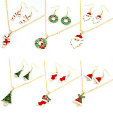 Hot Selling Fashion Chain Jewelry Bib Christmas Hoc Necklace Earrings Discount