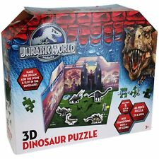 JURASSIC WORLD 3D JIGSAW PUZZLE IDEAL FUN DINOSAUR TRAVEL INTERACTION