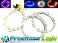 2X NEW 60MM CCFL SMD LED Headlights Halo Rings Lamp Angel Eyes Kit for any car
