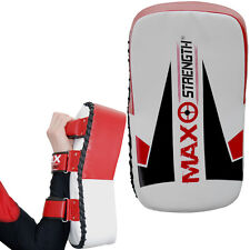 Thai Kick Pad Curved Arm Martial Arts Punching Bag MMA Muay Thai Single/Pair