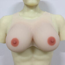 IVITA Realistic Full Silicone Boob Breast Forms Vest Style 3 Colors And 14 Sizes