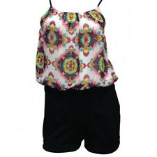 NEW PLAYSUIT Ladies Strappy Womens JUMPSUIT ROMPER 8/10/12/14