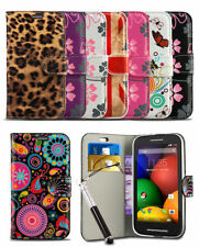 For Nokia Lumia 635 Phone Flip Wallet Print Pattern Case Cover & Retractable