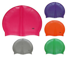 CHEX 100% Silicone Plain Stretchy First Grade A Strong 8+ Years Swimming Hat Cap