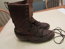 Mens Riding Boots Tall 10 D Made in USA Vibram soles