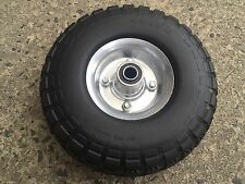 Hand trolley wheel SINGLE 10 inch PUNCTURE PROOF, suit 5/8