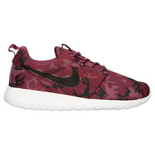 Nike Roshe Run RosheRun QS Print Team Red Camo Mulberry Black 655206 660