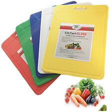 Probus Colour Code Chopping Boards Cutting Large Kitchen Mat Meat Veg Fish Food