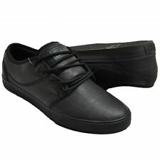 Globe Shoes Mahalo Black BTS Leather FREE POST USA Size New School Skate Shoes