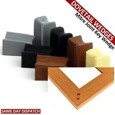 DOVETAIL PIN MITER JOINT DOVE TAIL KEY WEDGE PLASTIC KITCHEN CABINET UNIT