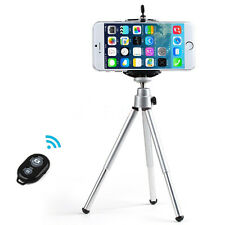 Tripod Holder + Bluetooth Remote Control Shutter for Apple iPhone 6 6 Plus 5S 5
