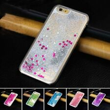 Luxury Glossy Clear Star Liquid Glitter Case Cover for Apple iPhone 5s&6 6s Plus