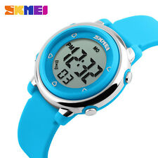 Sport 50M Waterproof Kids Cartoon Jelly Children's LED Digital Quartz Watch
