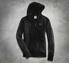 Women's Harley Davidson Black Wounded Warrior Project Hoodie