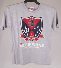 Official AFL Melbourne Demons Youth Tee Size 10