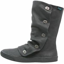 Blowfish Precise Black PU Womens Mid Calf Winter Boots Shoes