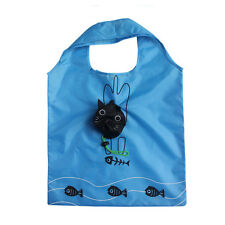 Cute Eco Foldable Handbags Grocery Tote Storage Reusable Animal Shopping Bags