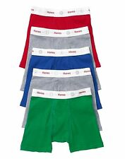 10 Hanes Toddler Boys' Boxer Briefs with Comfort Flex Waistband TB74P5