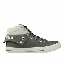 Womens CONVERSE CT PC2 MID Leather Winter with Fur Trainers 141973C UK 6 EUR 39